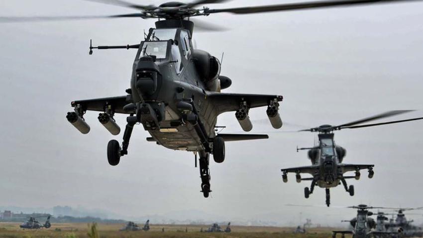 Çin Yeni Savaş Helikopterleri