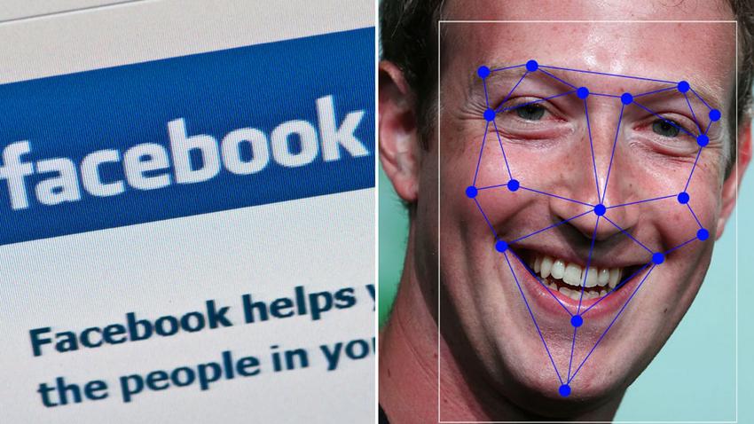 facebook yuz tanıma sistemi