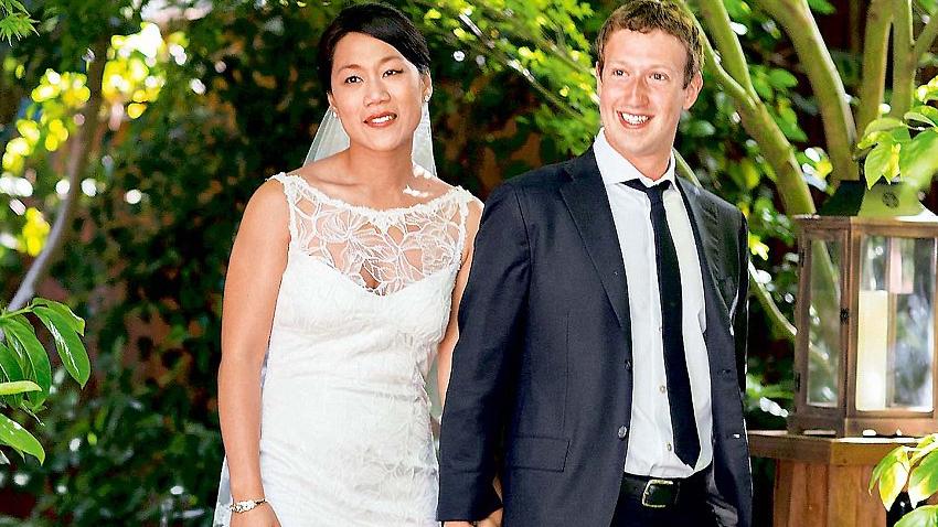 Mark ve Chan Zuckerberg