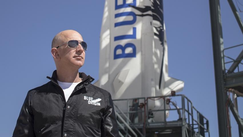 Jeff Bezos'un Roket Şirketine Asyalı Bir Şirket Ortak Oldu