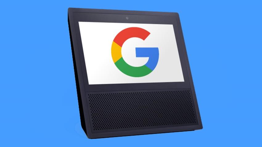 Google'dan Amazon Echo Show'a Rakip