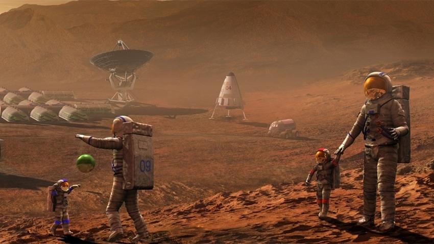 Bilim İnsanları, Mars'ta Yaşamın Mümkün Olduğunu Söyledi