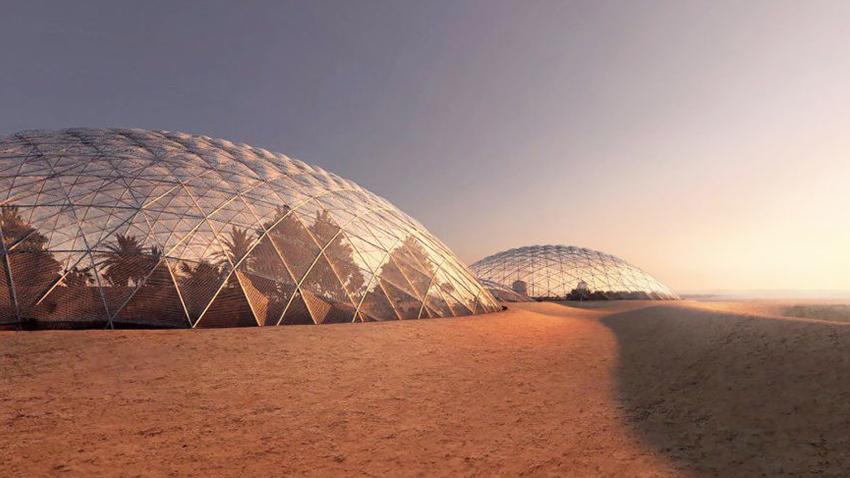 Mars Bilim Şehri, Dubai Çölüne İnşa Edilecek