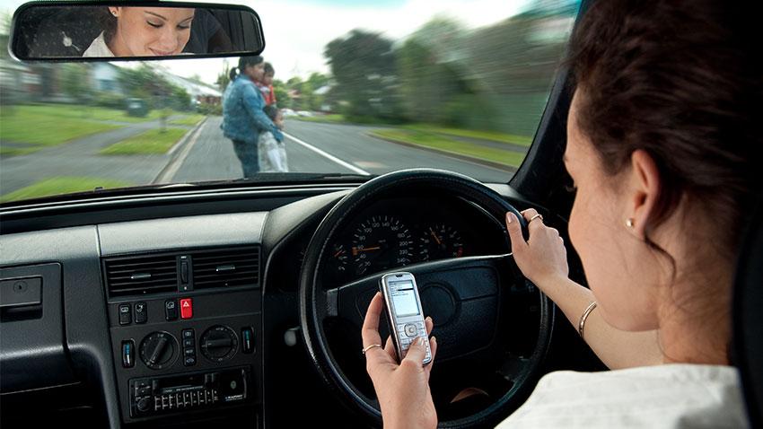Cep Telefonu Trafik Kazasi