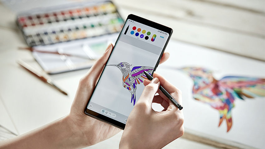 Galaxy Note 8 S Pen Cizim