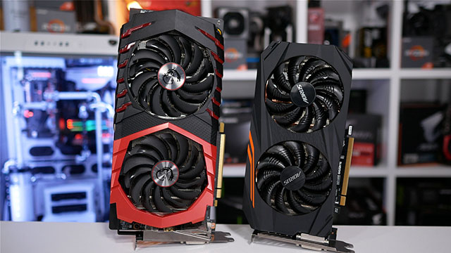 GeForce GTX 1060 vs Radeon RX 580