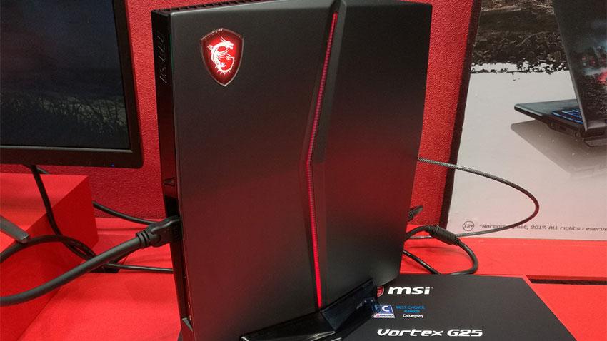 MSI Vortex G25 Oyun Bilgisayari On