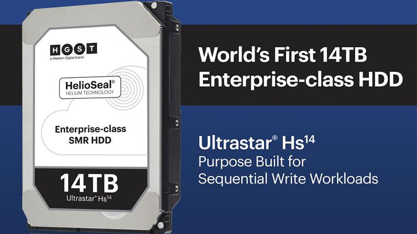 WD Ultrastar 14TB