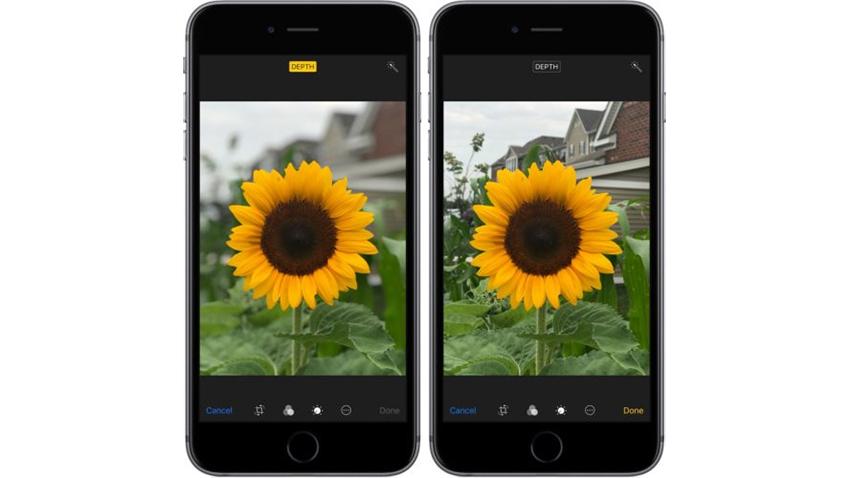 iOS 11 Portre Modu
