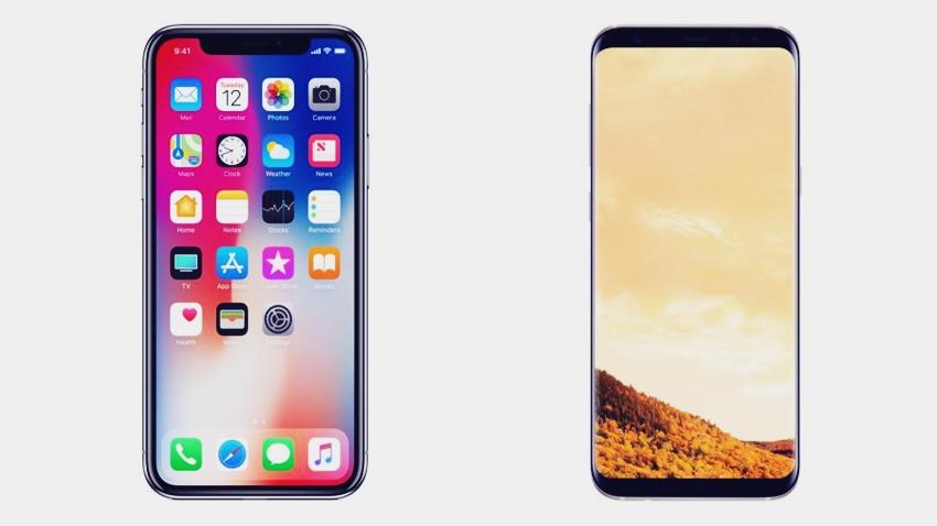 iPhone X vs. Samsung Galaxy S9