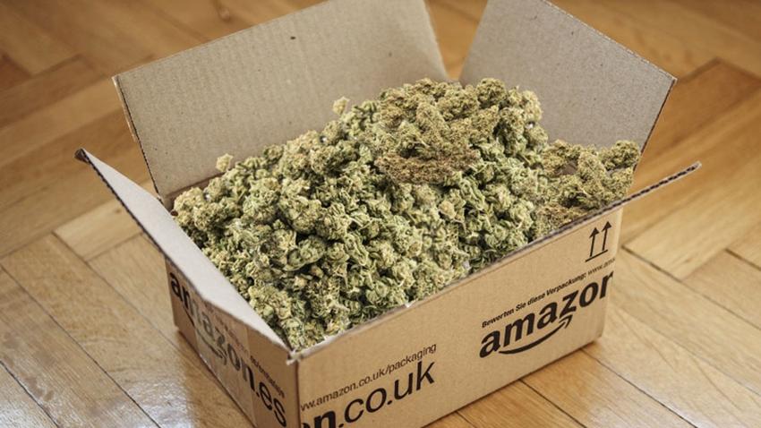Amazon 'Yanlışlıkla' Esrar Yolladı!