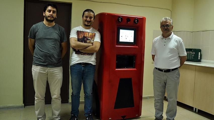 Hasta Bakıcı Robot 'HAYAMOR' Geliyor