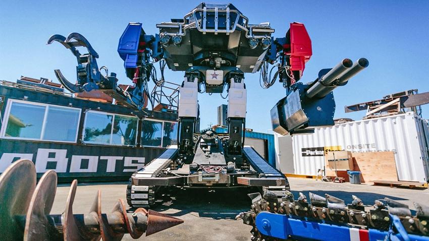 Mega Robotların Savaşı Gerçek Oluyor!