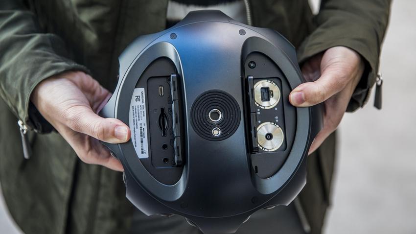 Samsung, 10 Bin Dolar Değerindeki 360 Round Kamerasını Tanıttı