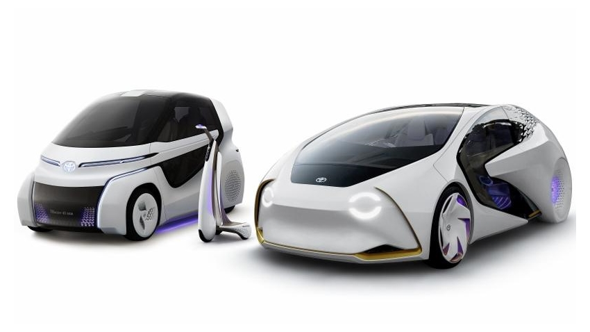 Toyota, Yapay Zeka Özellikli Concept-i Serisini Tanıttı