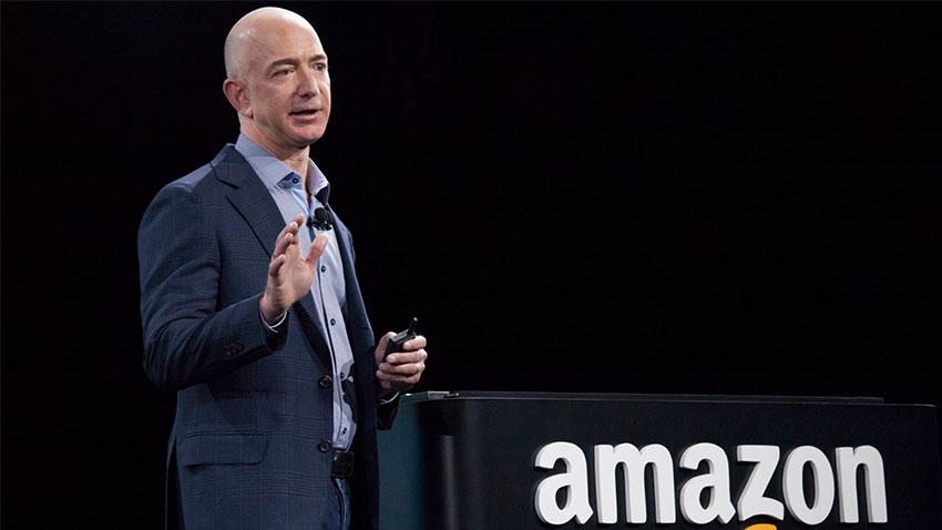 Amazon CEOsu Jeff Bezos
