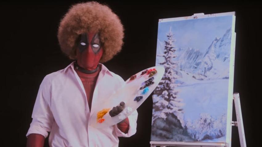 Deadpool 2'den Ressam Bob'lu Harika Bir Fragman Geldi!