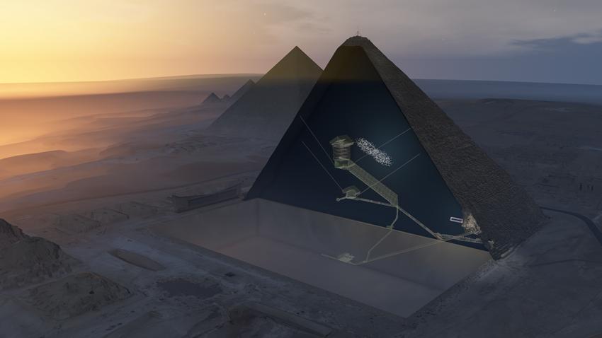 Giza Piramiti'nde Esrarengiz Keşif