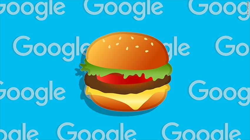 Google Nihayet Cheeseburger Emojisi Güncelledi!