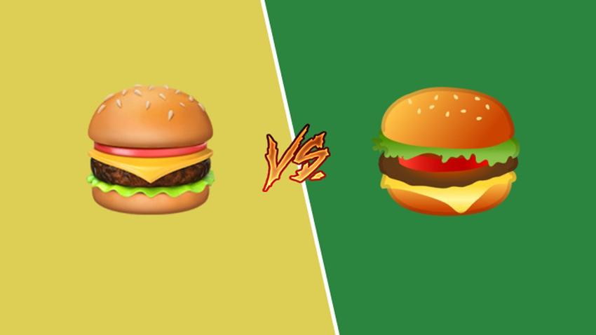 Sosyal Medya, Google'ın Cheeseburger Emojisini Tartışıyor!