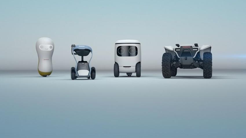Honda Birbirinden Sevimli 4 Robot Konseptini Duyurdu