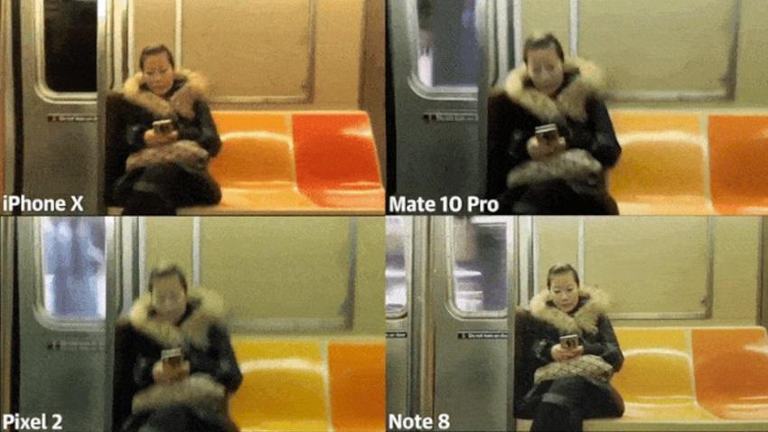 Samsung Galaxy Note 8'in Görüntü Sabitleme Özelliğinde Rakibi Yok!
