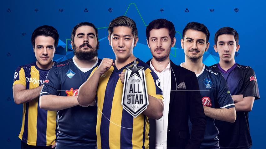 League of Legends All-Star 2017 Türkiye Kadrosu
