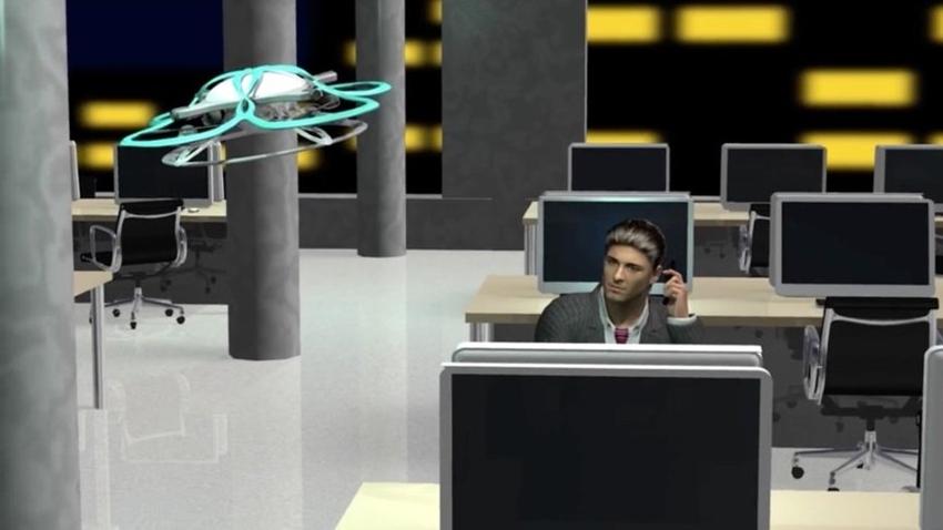 Bekçi Drone'lar Fazla Mesai Yapanları Uyaracak!