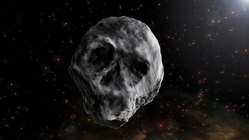 Kuru Kafa Görünümlü Asteroid Bir Kez Daha Dünya'yı Teğet Geçecek