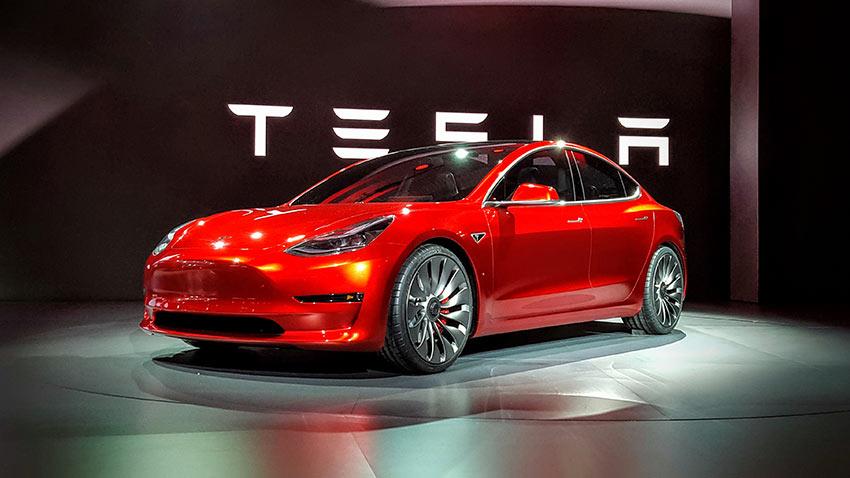 Tesla Model3 Showroom