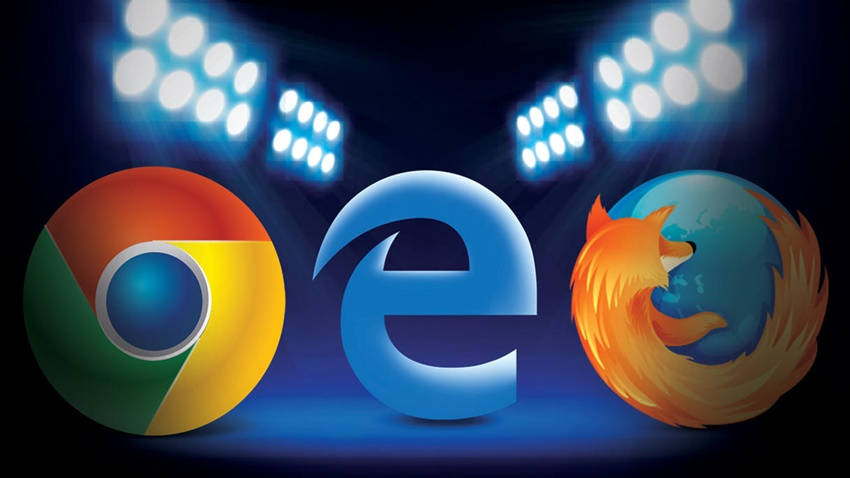 Edge Chrome Firefox