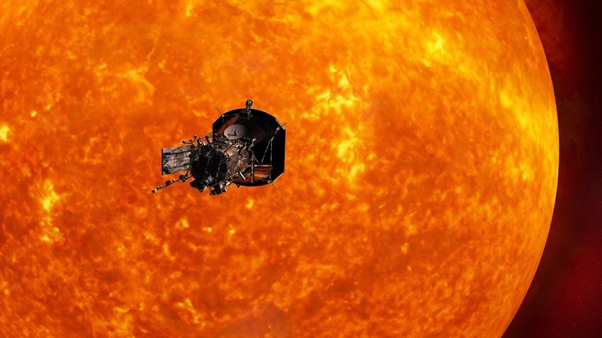 Parker Solar Probe deneme