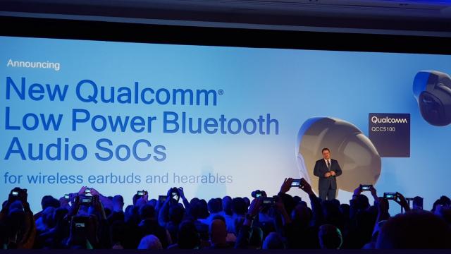 Qualcomm QCC5100 kablosuz kulaklık chipseti