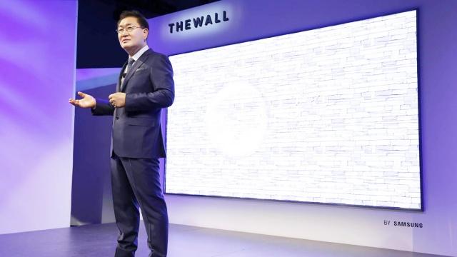 146 inçlik Samsung Televizyon
