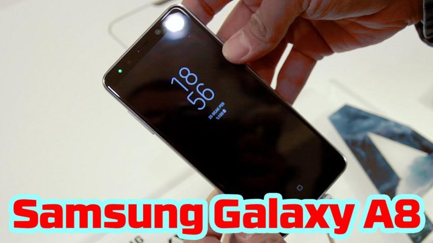Samsung A8 Ön İnceleme - Selfie Yeniden Doğuyor!