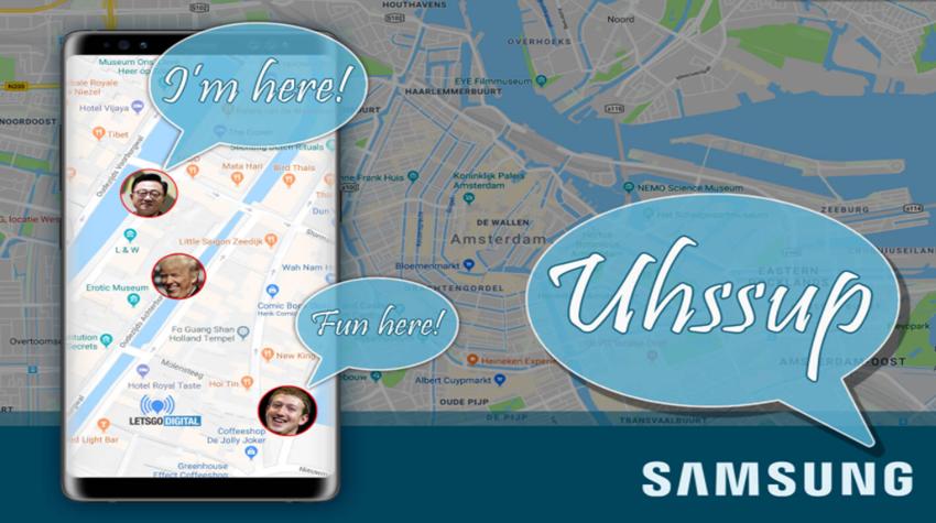 Whatsapp'a Rakip Mesajlaşma Servisi Uhssup Galaxy  S9 Serisiyle Birlikte Gelebilir