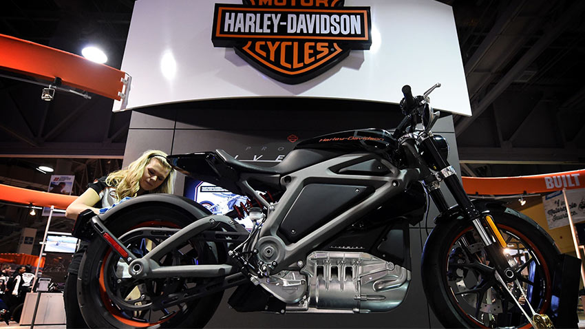 Harley Davidson Elektrikli Motosiklet