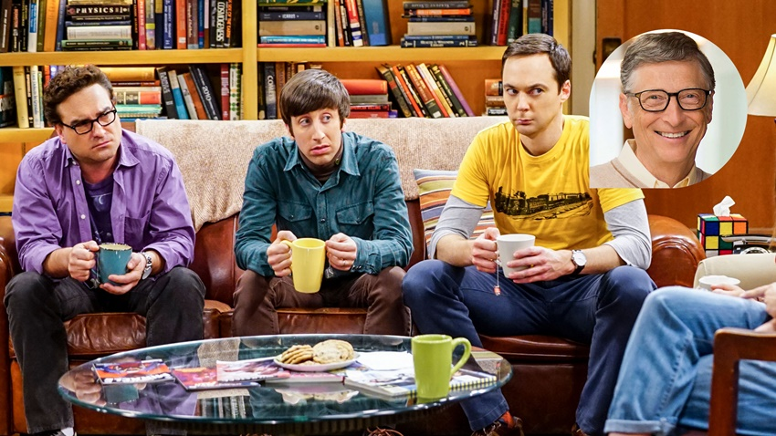 Bill Gates Dizi The Big Bang Theory