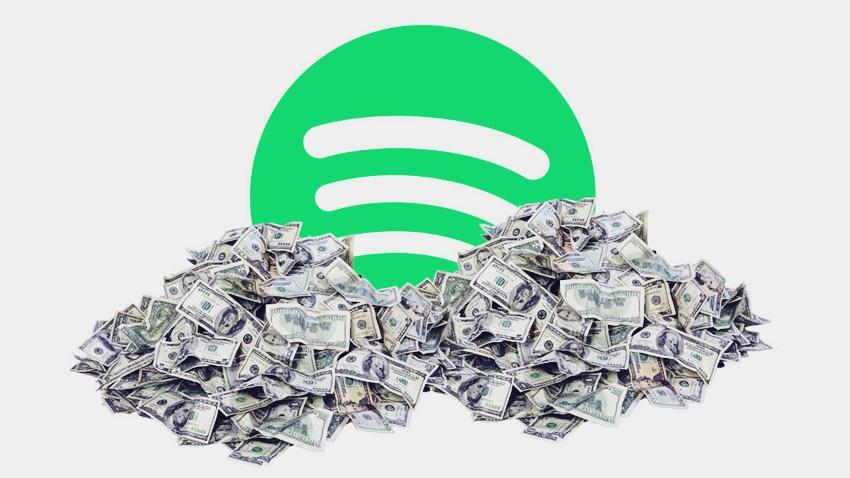 Spotify 2.2 Milyon Dolar