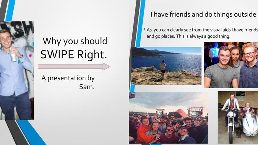 Tinder PowerPoint