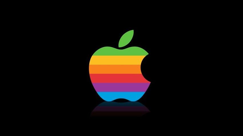 apple eski logo