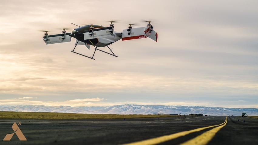 Airbus, İnsansız Hava Taksisinin İlk Uçuş Videosunu Yayınladı