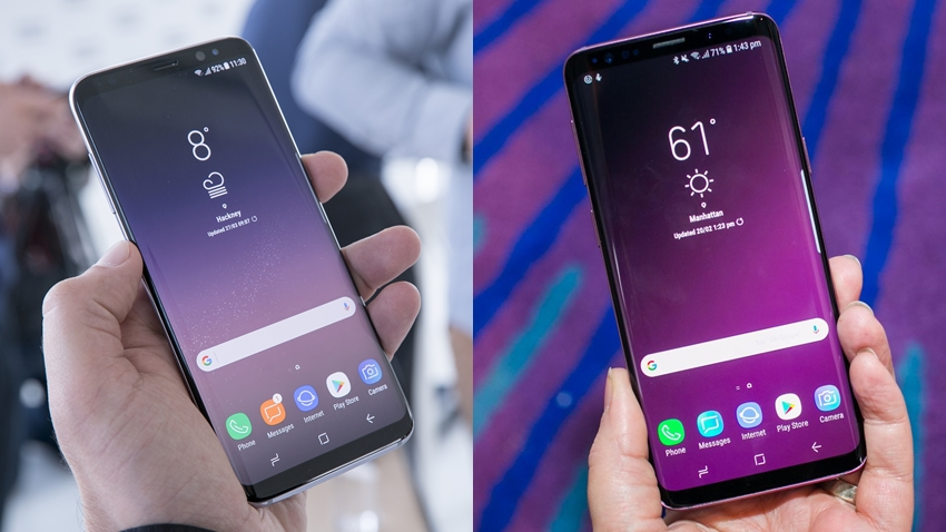 Galaxy s8 plus galaxy s9 plus
