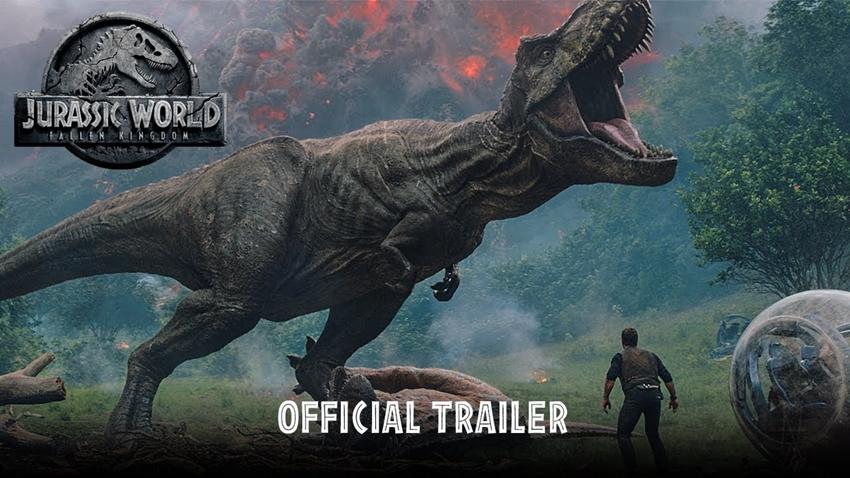 Jurassic World Fallen Kingdom'dan Heyecanlandıran Yeni Fragman