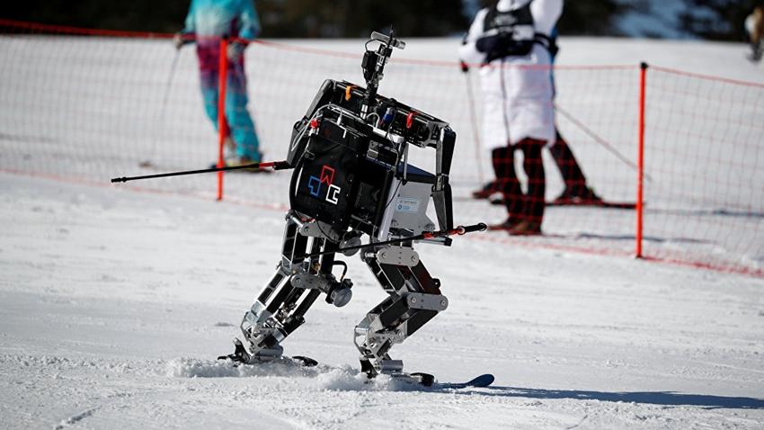 PyeongChang Kış Olimpiyatları'nda Robotlar Kayak Yarışı Yaptı
