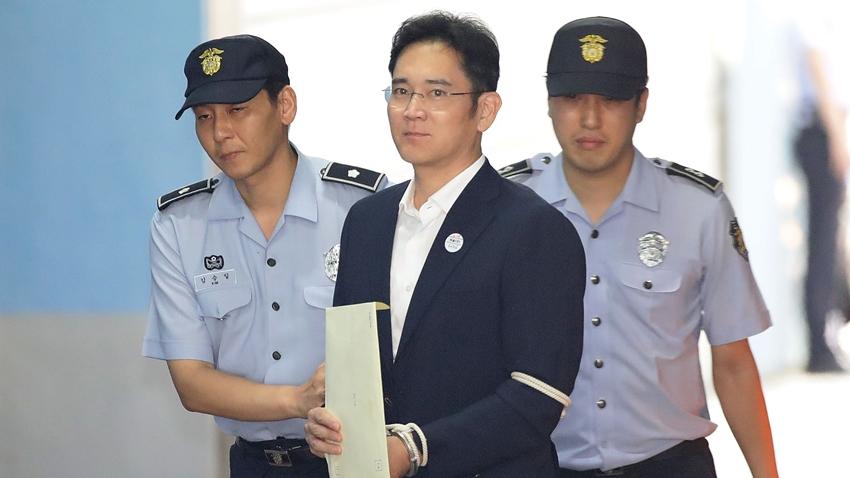 Rüşvet Suçundan Hapiste Bulunan Samsung'un Varisi Serbest Bırakıldı