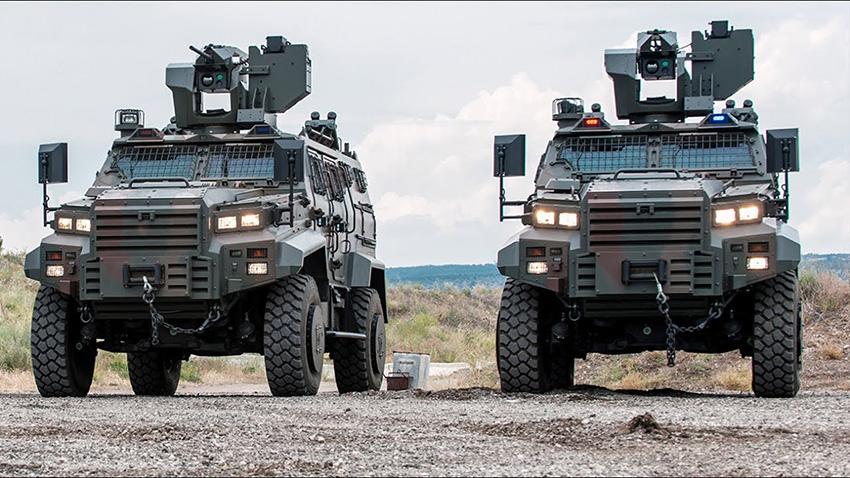Türk Yapımı Zırhlı Araçlara Uzaktan Kontrol Özelliği Eklendi
