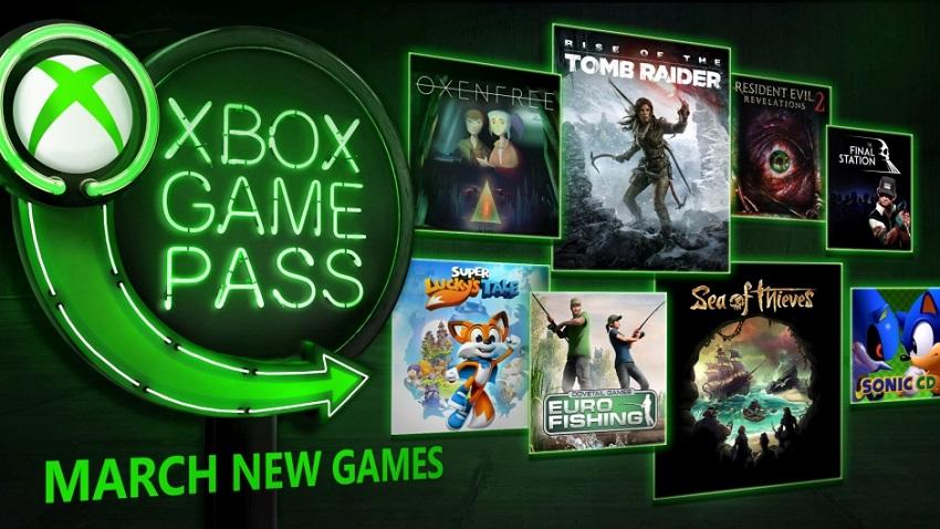 Xbox Game Pass'a Mart 2018'de Eklenecek Oyunlar Belli Oldu