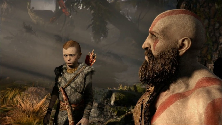 God of War 15 dakika