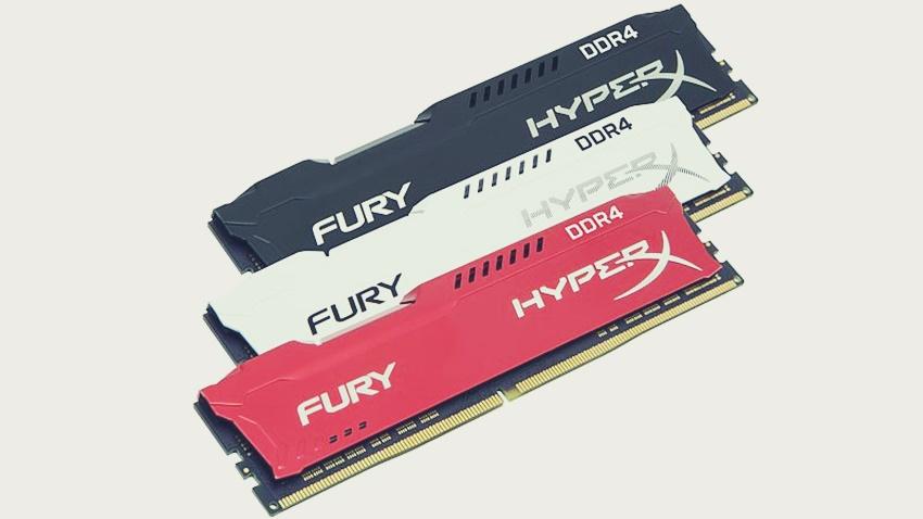 HyperX, FURY DDR4 ve Impact DDR4